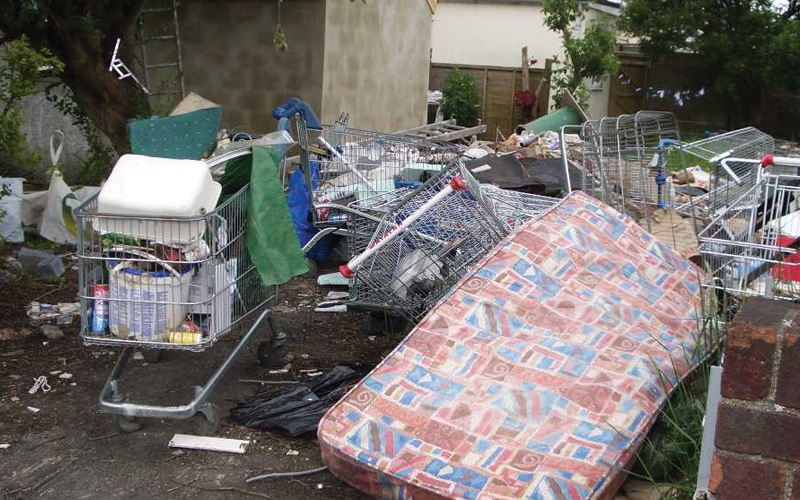 Fly-tipping clearance