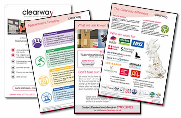 Clearway Working with Insolvency Practitioners Brochure