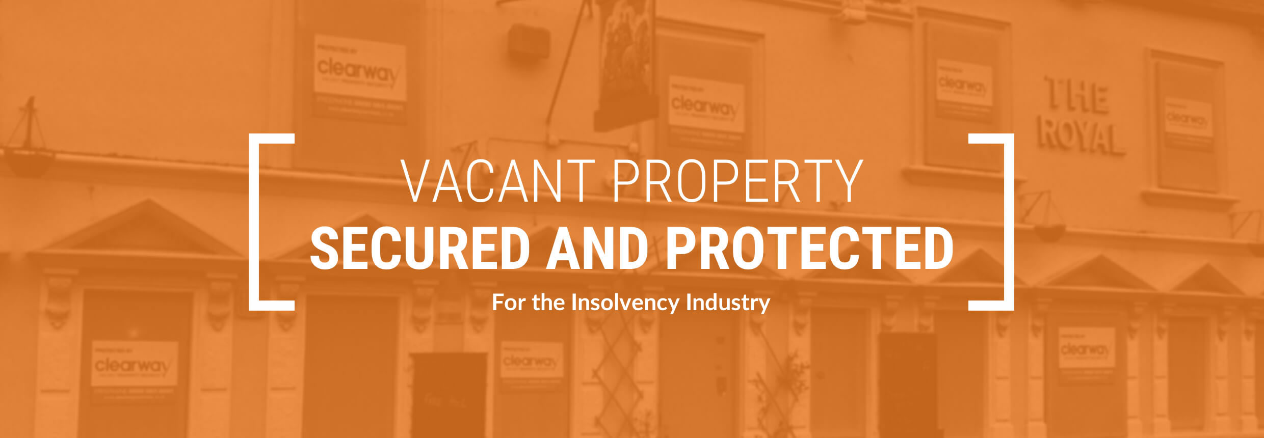Vacant Property Services For He Insolvency Industry