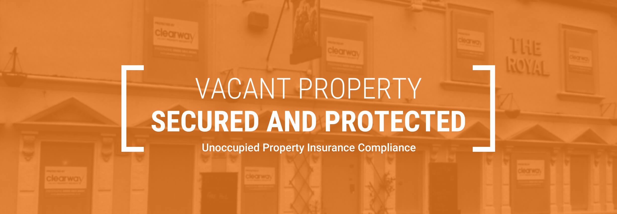 Unoccupied Property Insurance Compliance