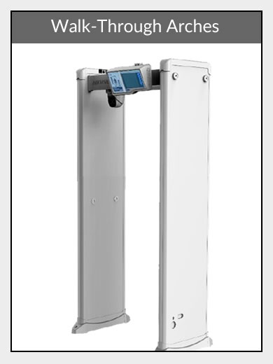 Walk-through arch Body Temp Cameras