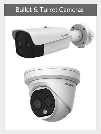 Bullet & Turret Body Temp Cameras
