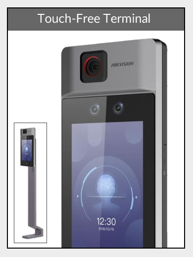 Touch-free Body Temp Cameras
